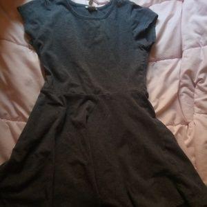 Forever 21 girls gray dress
